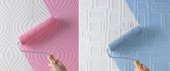 Флизелиновые структурные обои под покраску